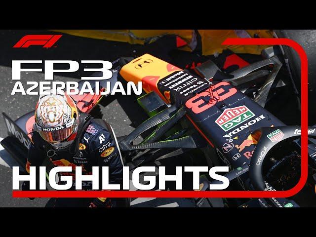 FP3 Highlights   2021 Azerbaijan Grand Prix