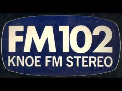 KNOE-FM 102 Monroe, LA (1971)
