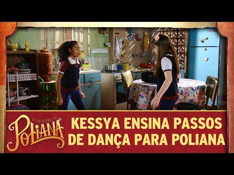 Kessya ensina passos de dança para Poliana | As Aventuras de Poliana