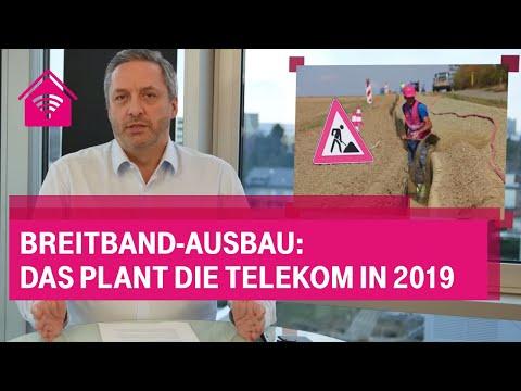 Social Media Post: Breitband-Ausbau: Das plant die Telekom in 2019