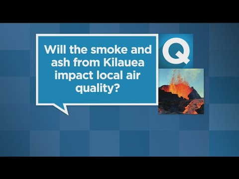 Will The Smoke And Ash From Kilauea Impact Sacramento's Air Quality