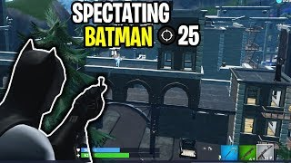 I landed GOTHAM CITY and was only allowed to spectate the NEW BATMAN SKIN! (shocking)