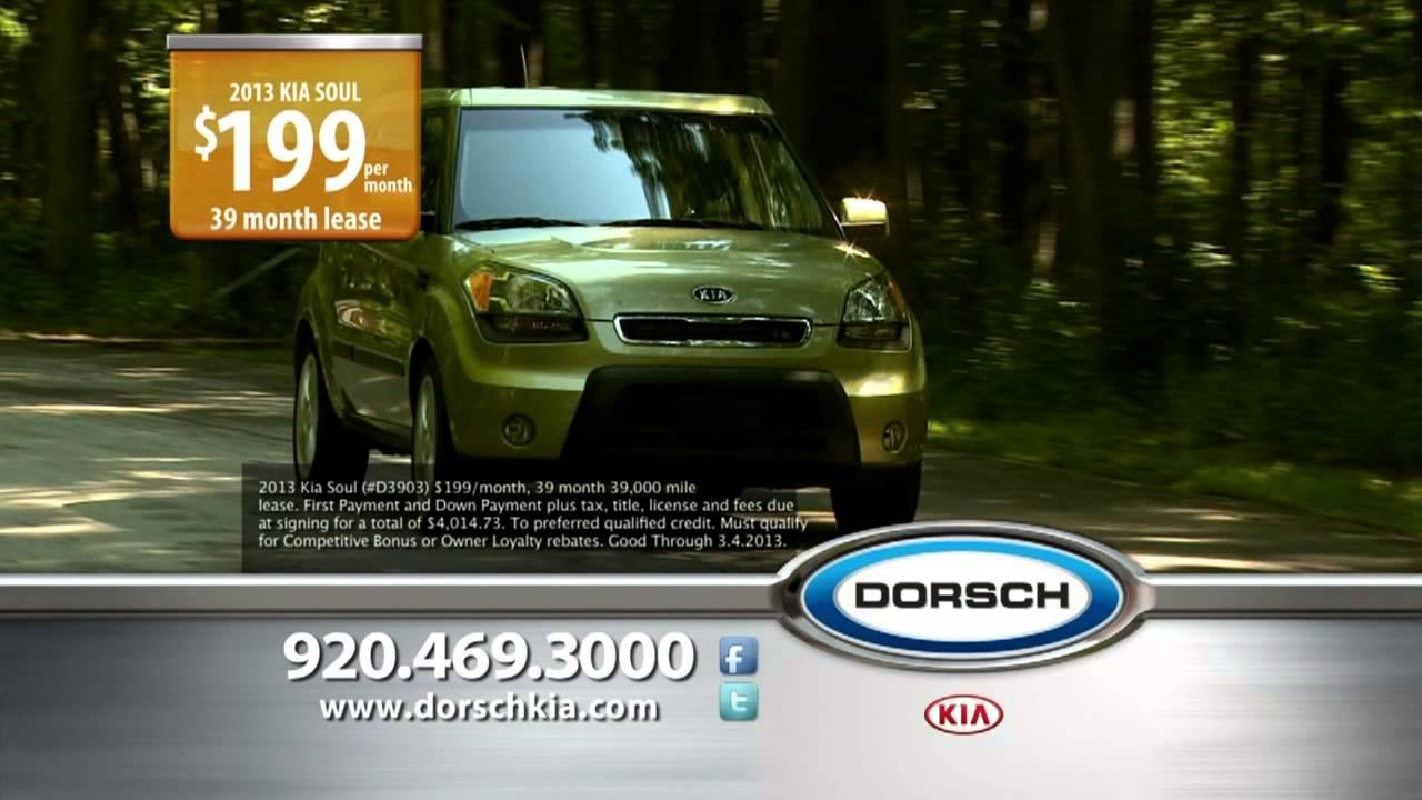Dorsch Kia Auto Show Deals