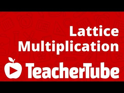 math worksheet : lattice multiplication  youtube : Lattice Math Worksheets
