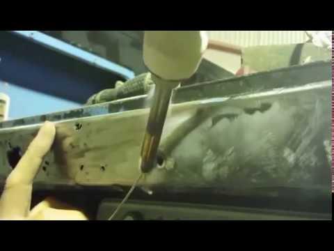 Как запаять отверстие в металле