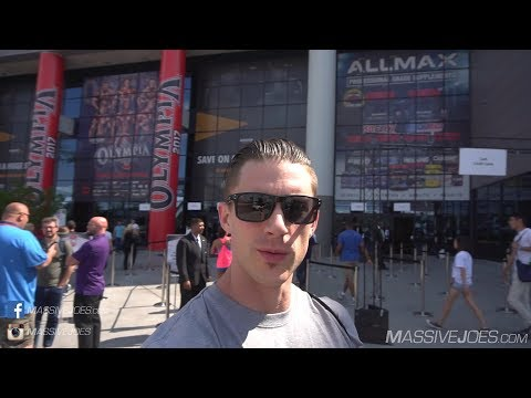 TMJ In The USA! Season 5 Episode 14: Expo Day 2 | MassiveJoes.com Mr Olympia Tour 2017
