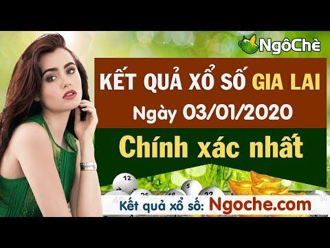 XSGL 3/1 - XS Gia Lai - Xổ Số Gia Lai Ngày 3 Tháng 1 Năm 2020 - Xổ Số Gia Lai Thứ Sáu Hôm Nay