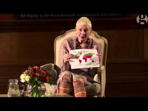 Vivienne Westwood on capitalism and clothing: 'Buy less, choose well, make it last' | Guardian Live