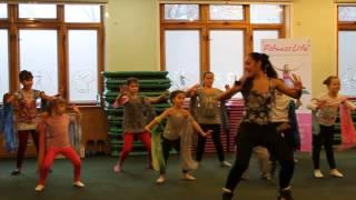 Детский фитнес. Открытый урок. Танец 1.