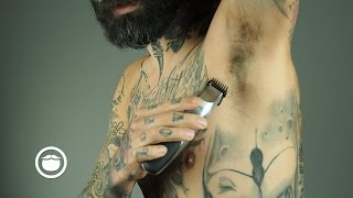 How to Groom Men's Armpits   Carlos Costa