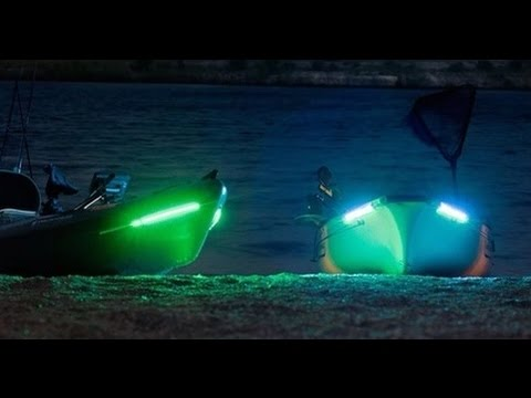supernova fishing lights installation on hobie pro angler - youtube, Reel Combo