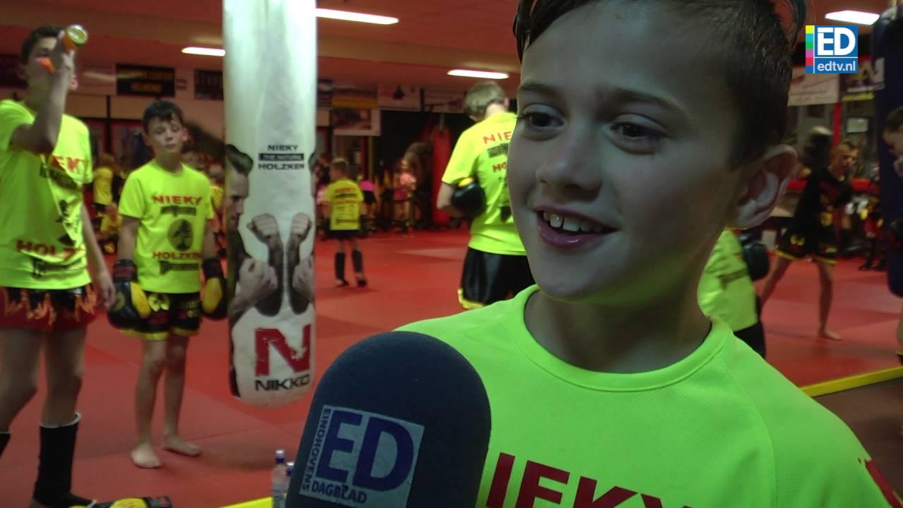 Nieky Holzken krijgt concurrentie van zoon Geraldo (10 ...