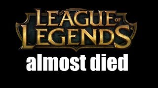 One of RossBoomsocks's most viewed videos: League of Legends content almost died this week (and you probably never knew)