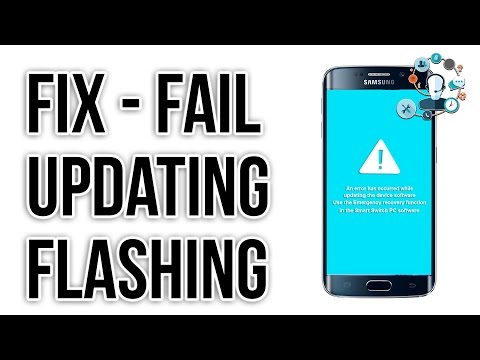 Flashing fail, Updating fail, fix An error has occurred while updating the device software Blog
