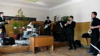 держи меня в руках.avi Church( Guitar, Drums, Sax, Trumpet, bass, )