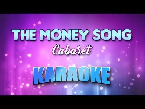 Cabaret - Money Song, The (Karaoke version with Lyrics)