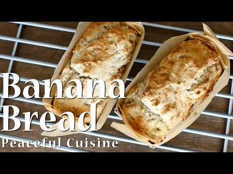 Banana Bread (vegan) ☆ バナナブレッドの作り方