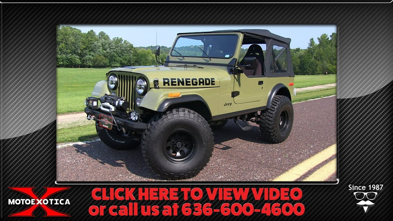 1985 jeep cj7 sold  [ 1280 x 720 Pixel ]