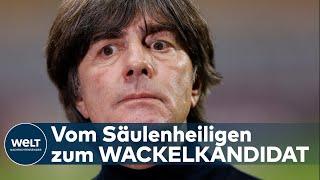 Die veränderte tonlage bei seinem arbeitgeber gibt anlass für verstärkte diskussionen um personalie joachim löw. der deutsche fußball-bund bestätigte am ...
