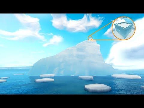 *NEW* GIANT ICEBERG & CASTLE APPEARS IN FORTNITE BATTLE ROYALE SEASON 7 MAP? CINEMATIC FOOTAGE