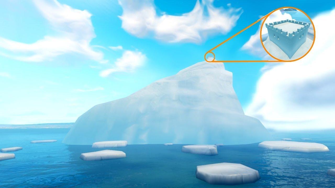 New Giant Iceberg Castle Appears In Fortnite Battle Royale