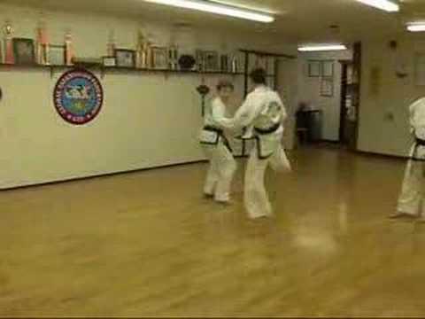 GTF Taekwon-Do Technical Free Sparring Match #1