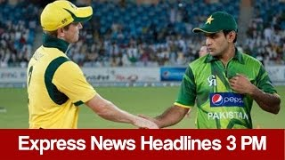Express News Headlines - 03:00 PM | 19 January 2017