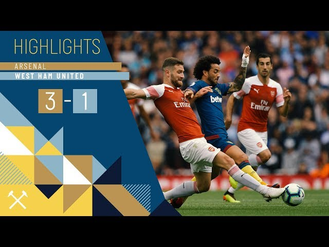 HIGHLIGHTS |  ARSENAL 3 WEST HAM UNITED 1