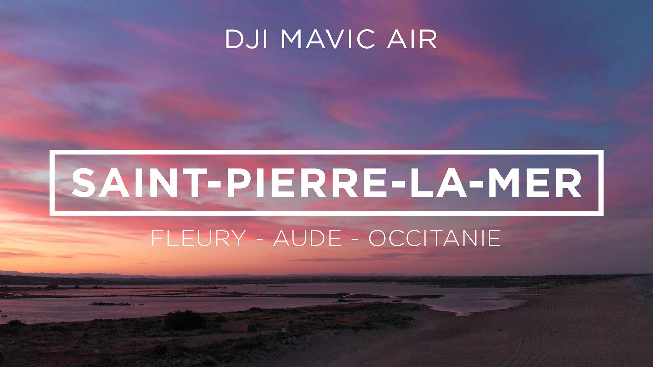 Test Drone  / Saint Pierre La Mer - Mavic Air 4K