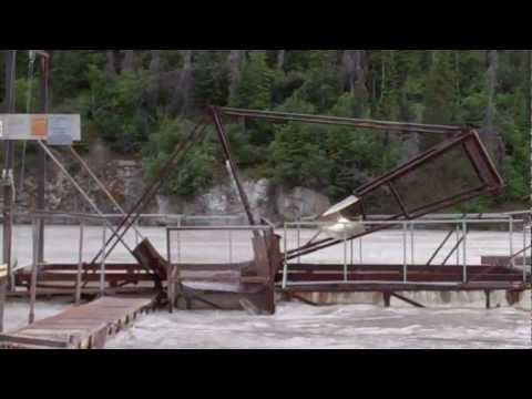 Fish Wheel On The Copper River In Chitina, Alaska Part 1