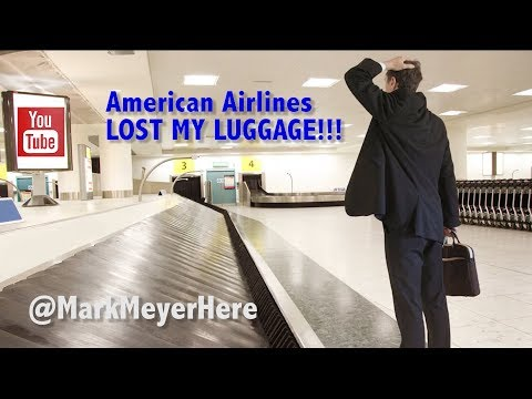 American Airlines LOST MY BAGS!!!