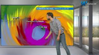 Historischer Sturm -  Kat. 4 Hurricane MICHAEL trifft auf Florida (Mod.: Alexander Hübener)