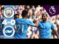 HIGHLIGHTS | Man City 4-0 Brighton | De Bruyne, Aguero (2), Bernardo Silva