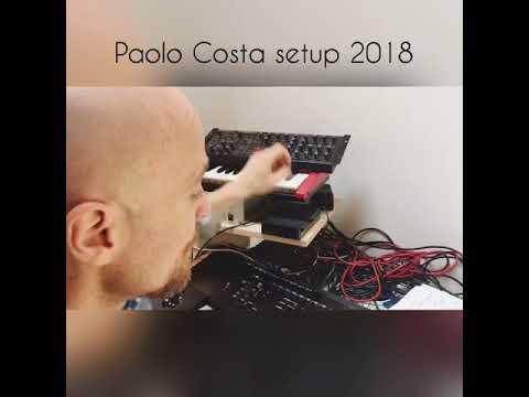 Paolo Costa setup 2018