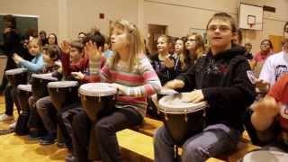 Caravane musicale  de la réussite scolaire SAMAJAM - Lac--Mégantic