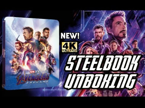 Avengers Endgame New Steelbook Lenticulaire Unboxing Exclu 4k Uhd Blu Ray Zavvi