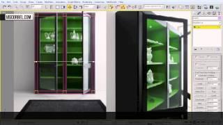 3ds max  Моделирование шкафа