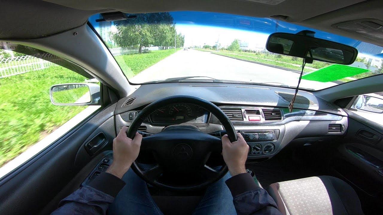 2004 МИТСУБИСИ ЛАНСЕР POV TEST DRIVE
