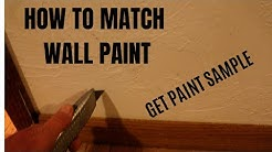 How To Match Paint Colors On Wall (Get Sample)