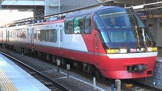 名鉄1000系1014F更新車 知立駅16時8分発快速特急豊橋行き