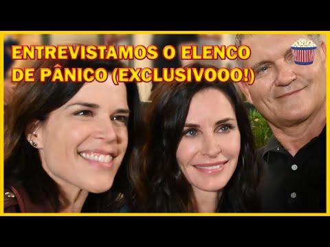 Entrevistamos o elenco de PÂNICO; Confira o logo e as primeiras fotos! #Pânico5 #Scream5