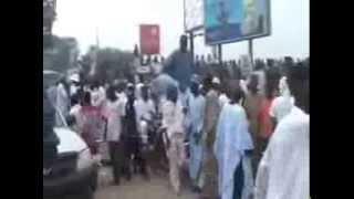 Shekarau Return to Kano from Saudia (UMARA 2011) 1