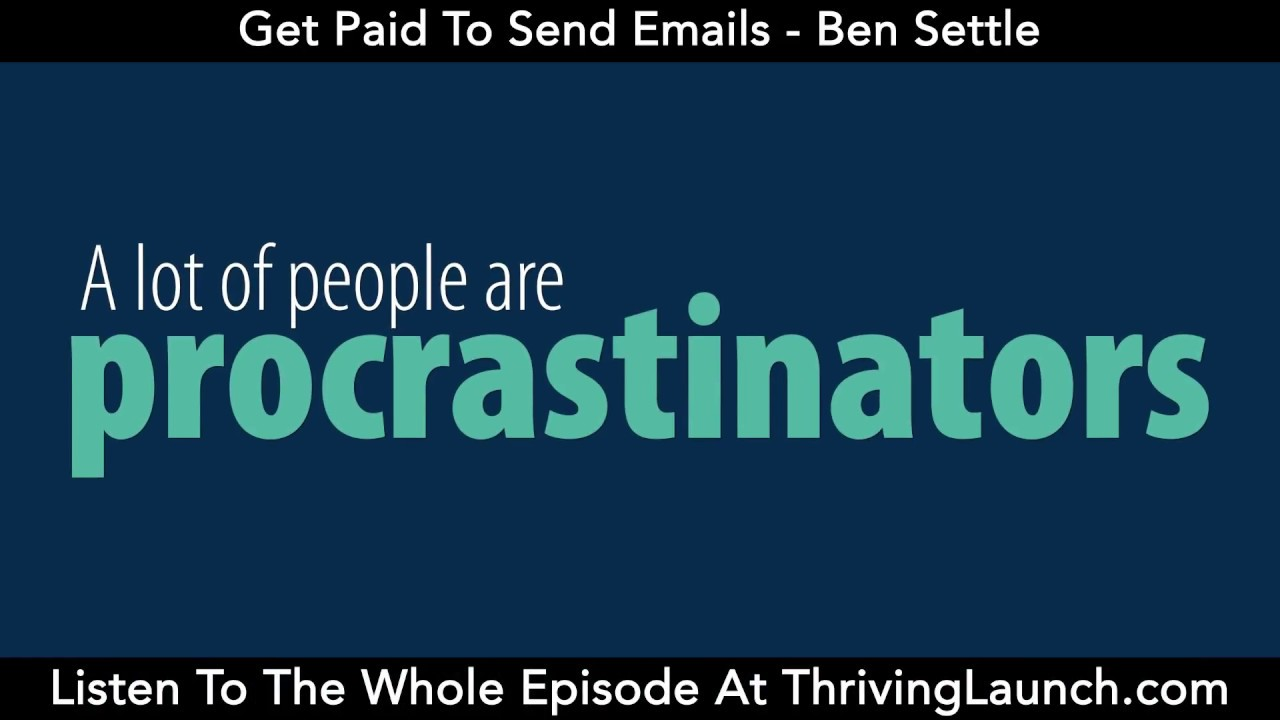Get Paid To Send Emails - Ben Settle