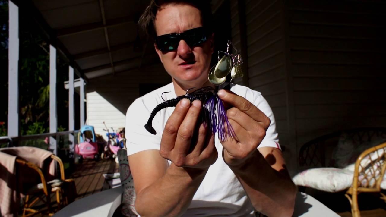 Handmade Lures of Australia Unwrapped - Bassman Spinnerbaits - August 2016