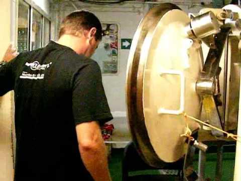 Life inside a diving bell