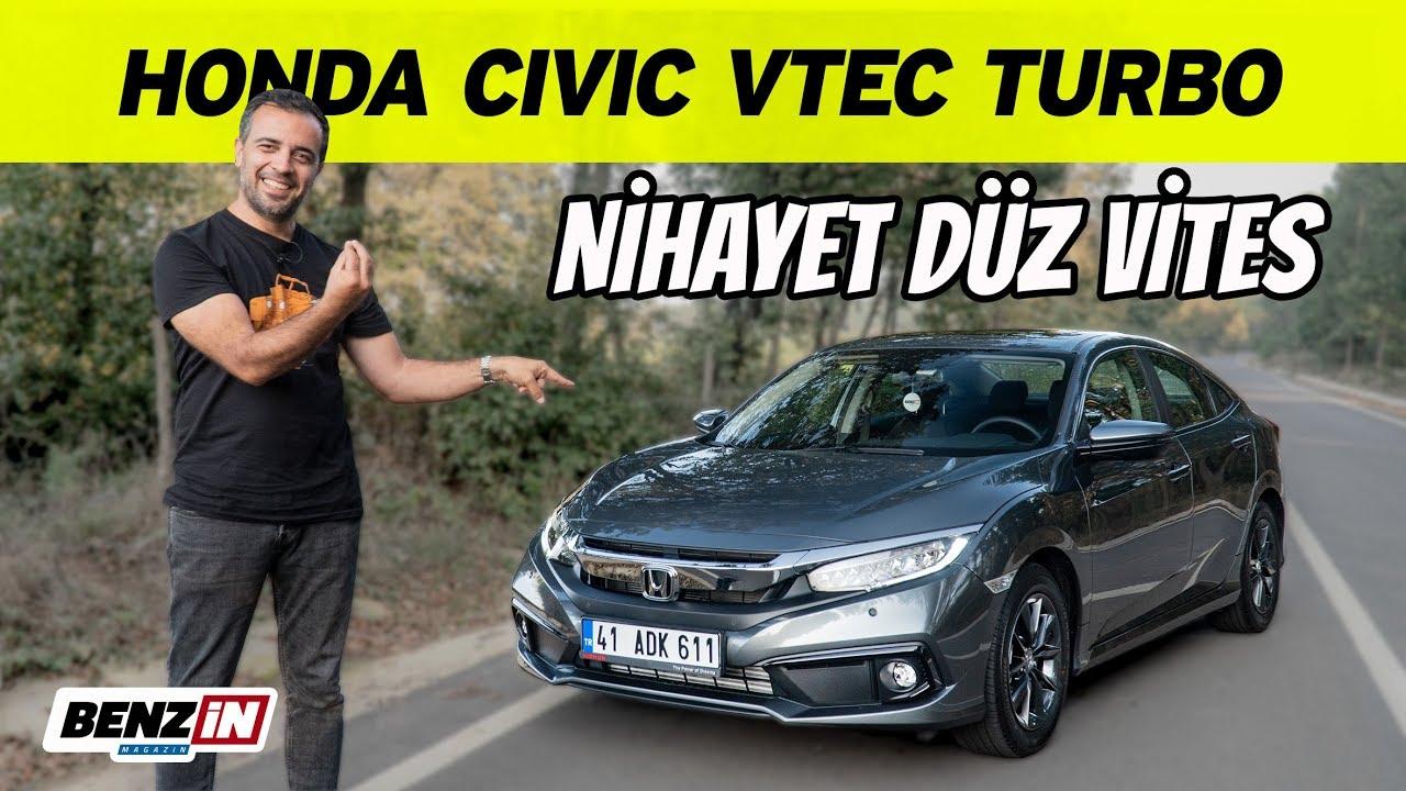Honda Civic VTEC Turbo test sürüşü   Manuel vites ne kadar hızlı?