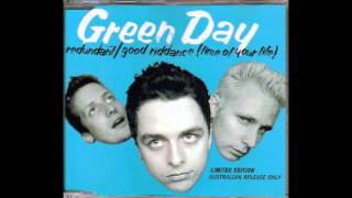 Green Day - Reject (Live) Redundant Single  AUS CD / RARE