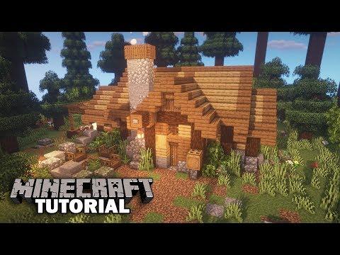 Minecraft Survival Starter House Tutorial