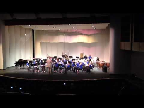 Talmadge Middle School Band concert