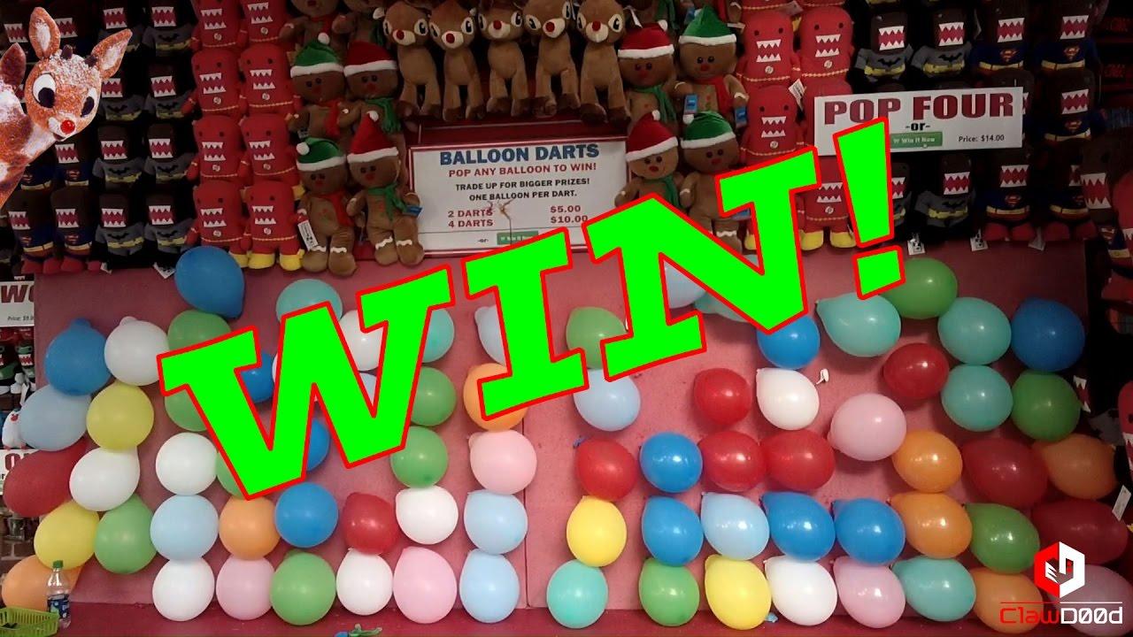 Ballon Dart Win Pop The Balloon Carnival Game Winning At Six